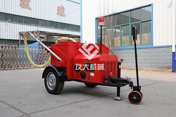 100L自带搅拌沥青灌缝机