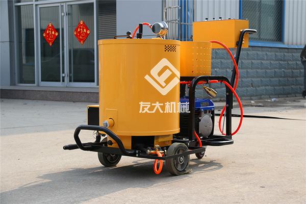 60升沥青灌缝机施工视频